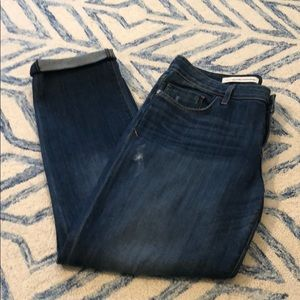 Anthropologie Hyphen cuffed jeans, 29